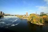 St. Anthony Falls, Mississippi, Minneapolis