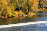 Mississippi in fall, Minneapolis