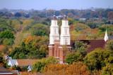 Church through the fall colors, St. Paul