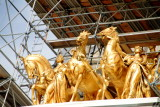 Quadriga, The Progress of the State which was sculpted by Daniel Chester French and Edward Clark Potter, Minnesota State capitol