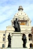 John Albert Johnson, 3 times governor of Minnesota, Minnesota State Capitol, St. Paul