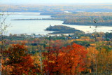 Saint Louis River, view from Thompson Hill, Duluth