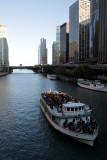 Touring the Chicago River