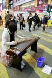Street performer, Mong Kok, Hong Kong