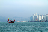 Arriving in Hong Kong