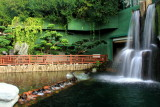 Waterfalls, Chi Lin Nunnery, Nan Lian Garden, Diamond Hill, Kowloon, Hong Kong