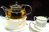Ginseng Oolong tea, Jasmine Garden, Langham Place Mall, Kowloon, Hong Kong