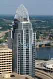 Great American Tower at Queen City Square, View from Carew Tower, Cincinnati, Ohio