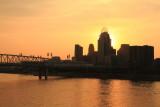 Sunset, Cincinnati, Ohio