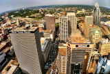Fifth Third Bank, US Bank, View from Carew Tower, Cincinnati, Ohio