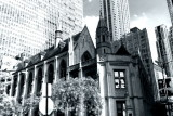 Archbishop Quigley Preparatory Seminary, Chicago, Black and White
