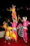 Kids showing off, Dilli Haat, Delhi