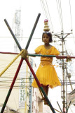 A wiry balancing act in the city, Madurai