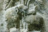 Is it an elephant or a bull?, Pillayarpatti temple, Karaikudi, India