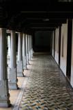 Passage surrounding the courtyard, Karaikudi, India