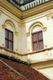 Exterior windows, Karaikudi, India