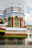 The beautful colors co-exist, Chettinad Palace, Karaikudi, India