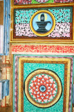 Paintings on the ceiling of the Kumbeshwara Temple, Kumbakonam, India