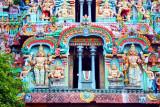 Guarding the entrance, Sarangapani Temple, Kumbakonam, India