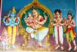 The meaning of OM, Swamimalai temple, Kumbakonam, India