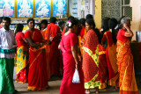 Pilgrims to the Swamimalai temple, Kumbakonam, India