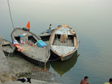 VARANASI - ON THE GHATS OF GANGES