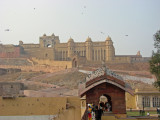 AMBER  FORT AND PALACE, JAIPUR