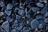 Frozen stones (Alunskiffer) at Ottenby