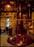 Distillation at Bruichladdich