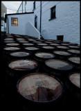 Bowmore barrels