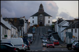 Bowmore main street and church