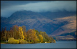 Autum colors at Loch Lomond