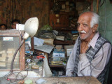 Shaukat, the oldest watchmaker in Samahni town