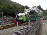 Padarn Lake Railway Llanberis.