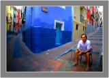 Villajoyosa-downtown scenes.