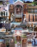 Baseball Hall of Fame collage