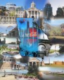 Georgia collage