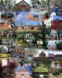 Colonial Williamsburg collage