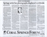 Coral Springs Forum Article