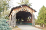 Covered bridge in Ticonderoga