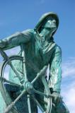 Fisherman Memorial in Gloucester MA