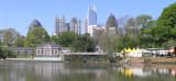 Midtown Atlanta skyline from Piedmont Park