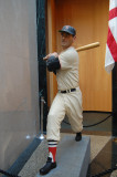 Ted Williams sculpture at Baseball Hall of Fame