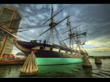 Uss Constellation in Inner Harbor, Baltimore MD