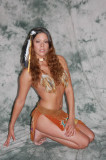 Indian Pin Up in Studio