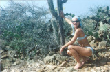 Roberta in Arikok Park, Aruba