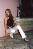 Roberta fashion pose in Las Olas