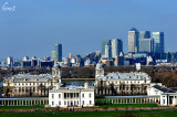 London's view  from Greenwich park