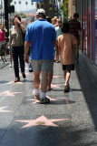 IMG_4864 Walking on the Hollywood stars
