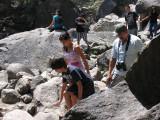 IMG_3438 Climbing the rocks to the Yosemite Falls